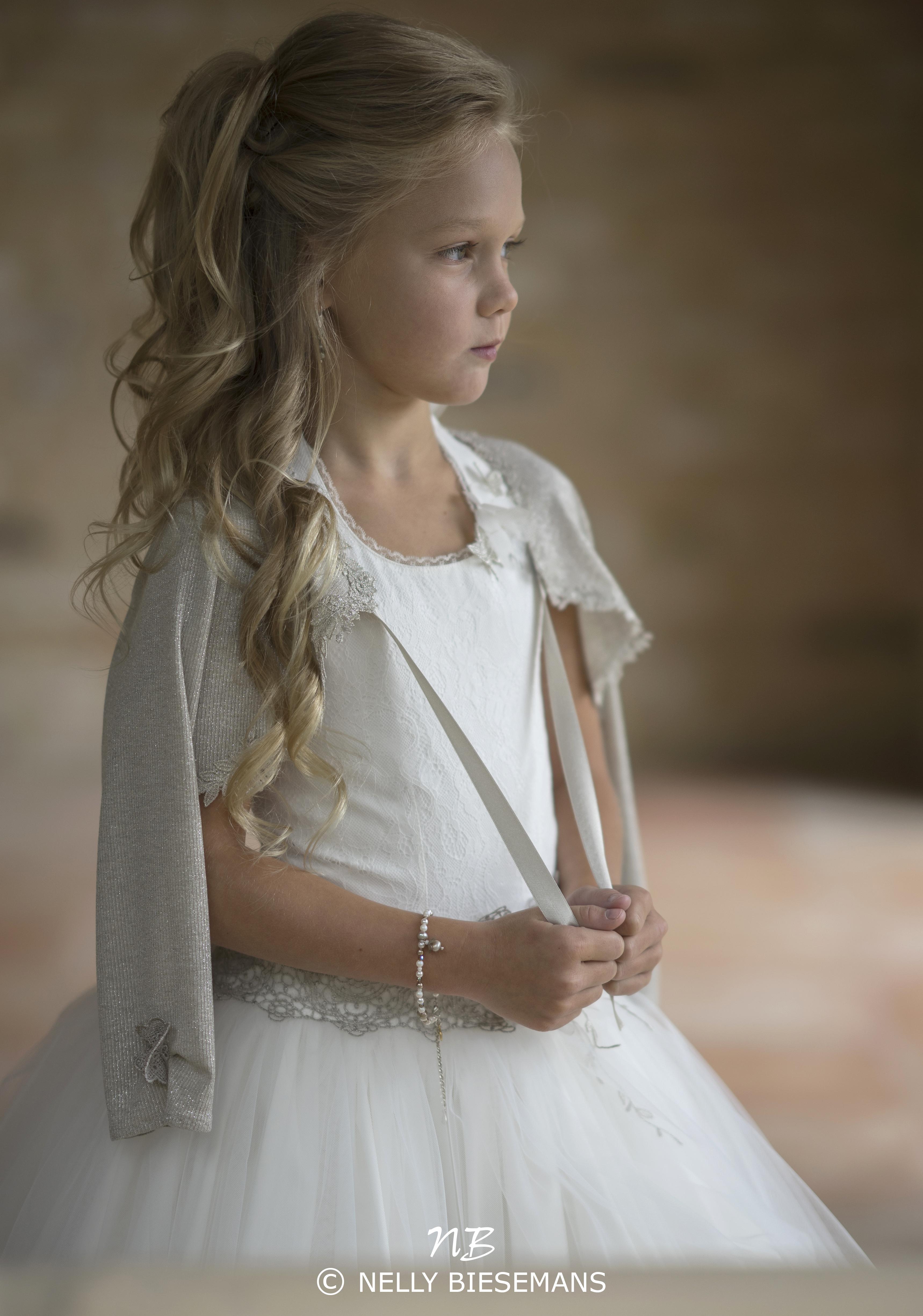 exclusieve communiejurk – bruidsmeisje – vormsel – Nelly Biesemans – www.nb4kids.com – A19K15(1)