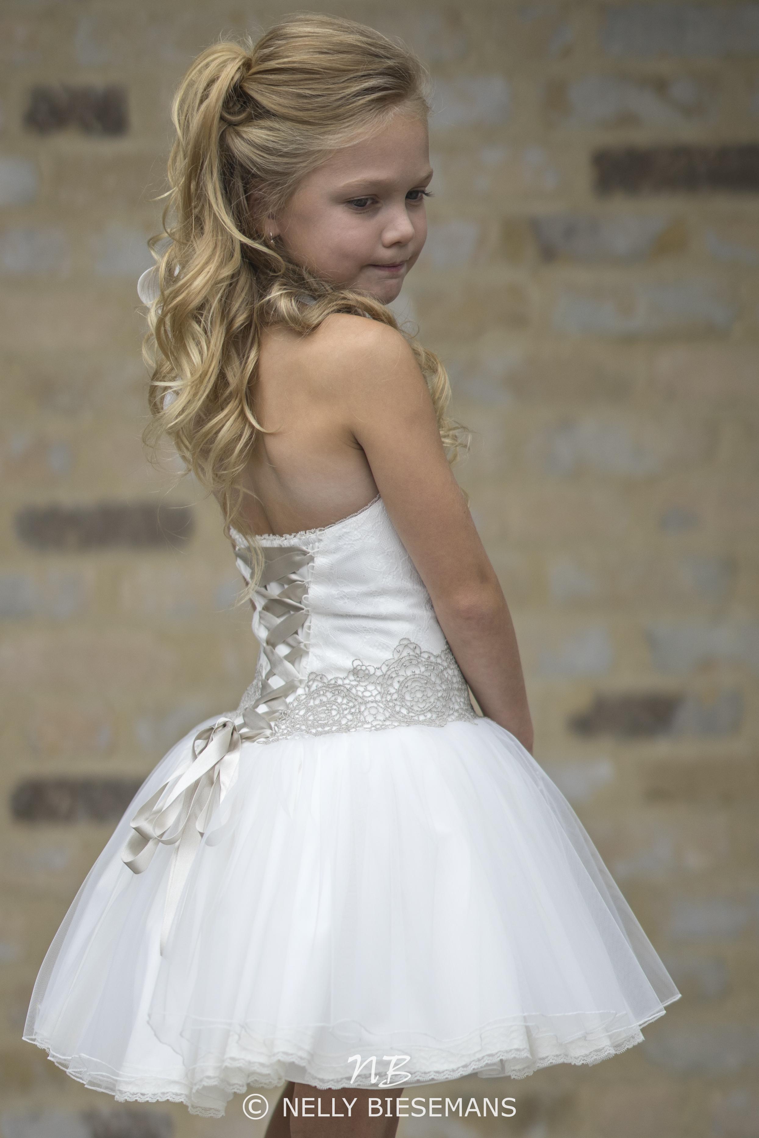 exclusieve communiejurk – bruidsmeisje – vormsel – Nelly Biesemans – www.nb4kids.com – A19K15(4)