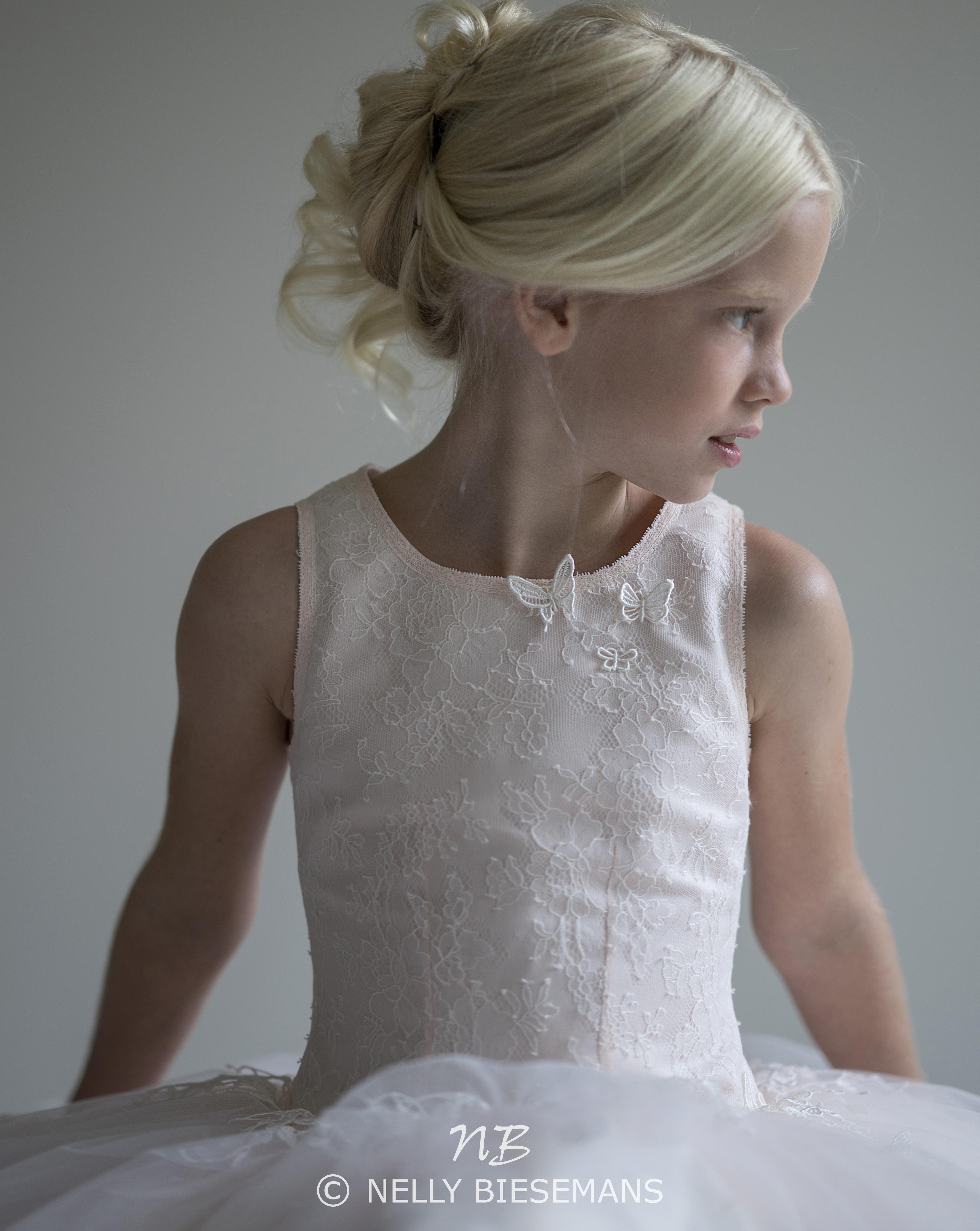 exclusieve communiejurk – bruidsmeisje – vormsel – Nelly Biesemans – www.nb4kids.com – A19K23(1)