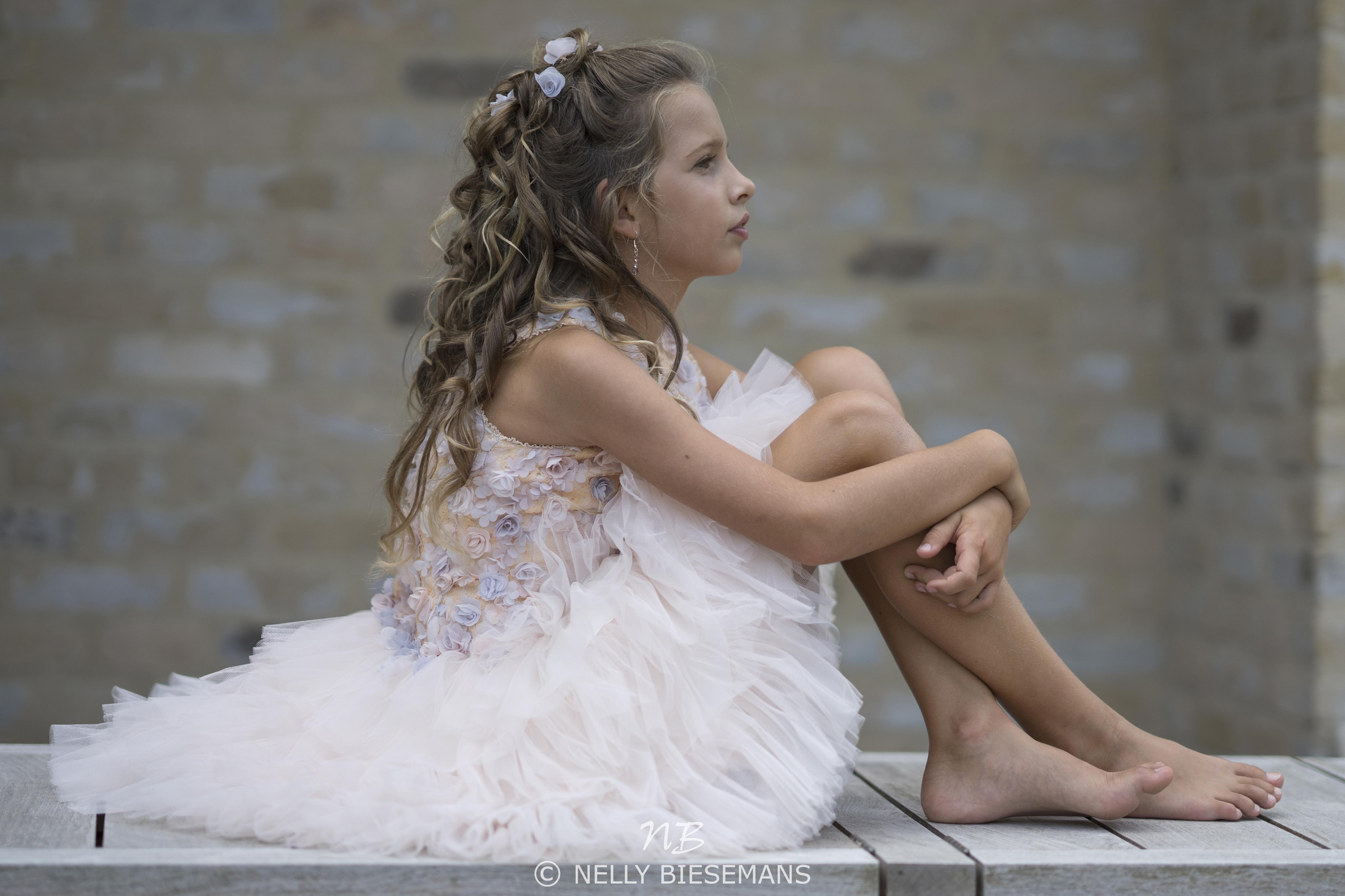 exclusieve communiejurk – bruidsmeisje – vormsel – Nelly Biesemans – www.nb4kids.com – A19LIM4(3)